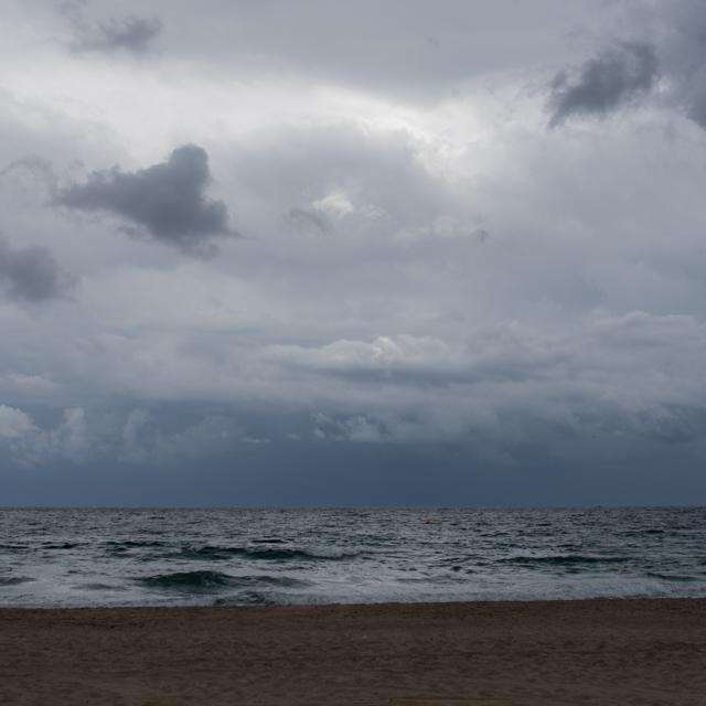 På stranda…
